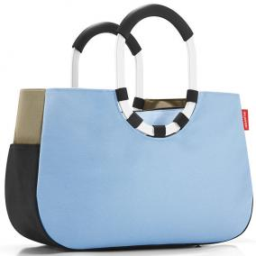 Сумка loopshopper m patchwork pastel blue цена от 4 170 руб